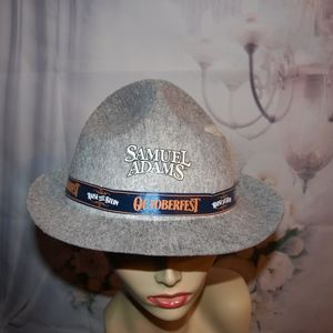 Samuel Adams Beer Hat Octoberfest Hat Coolest ever